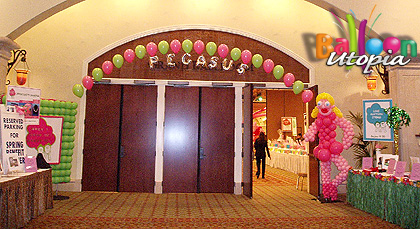 Entrance to event