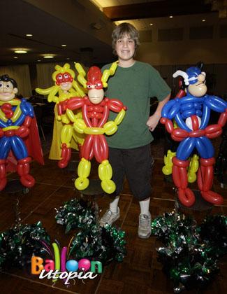 Super Hero Theme Bar Mitzvah Balloon Utopia