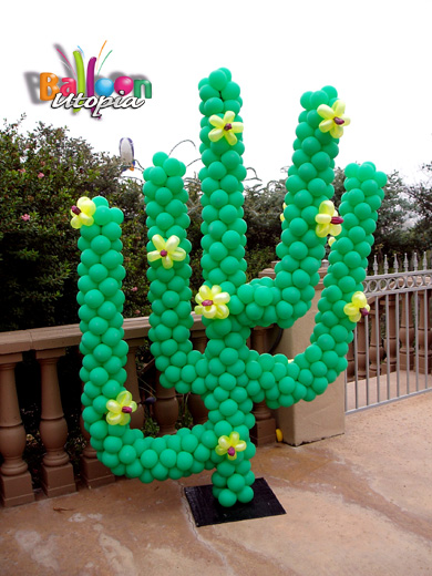 Cactus balloon utopia for Cactus decoracion