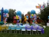 wow wow wubzy parody balloon centerpieces