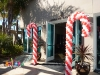 Candycane Balloon Entrance