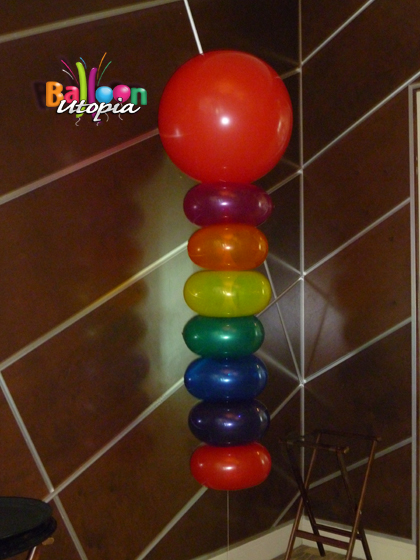 Lifesaver Balloon Bouquet