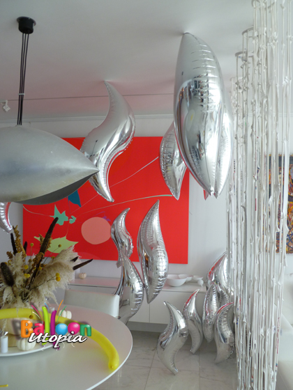 Andy Warhol's Silver Room Theme Decorations