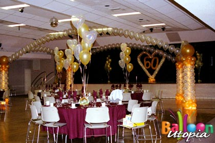 San Diego Anniversary Decor By Anniversary Event Experts