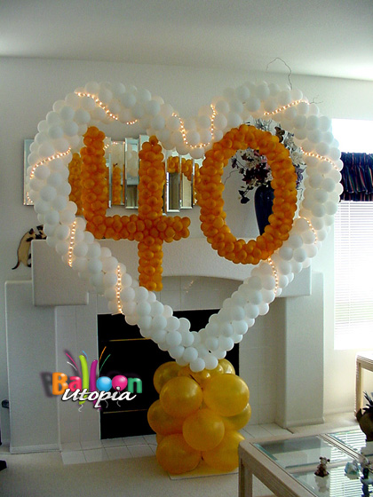 San Diego Party Decorations by Balloon Utopia
