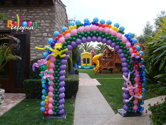 San Diego Event Decor By Balloon Utopia