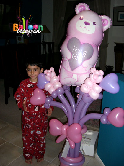 San Diego Baby Showers and Baby Party Decorations by Balloon Utopia