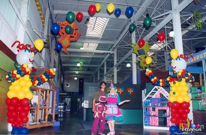 San Diego Birthday Juggling Clowns