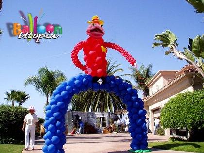 San Diego Birthday Party Decorations by Balloon Utopia