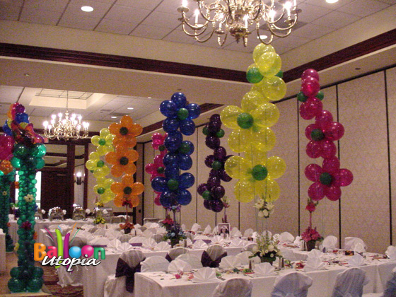San Diego Flower Theme Birthday Party