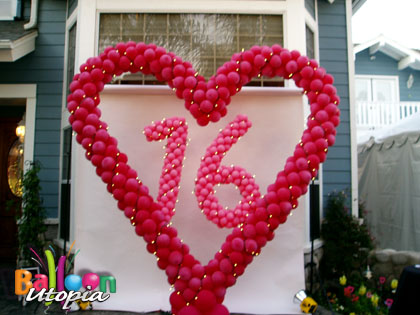 San Diego Sweet 16 Birthday Party