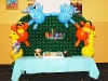 Animal Arch over Cake Table
