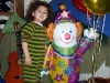 Balloon Clown Holding Balloons
