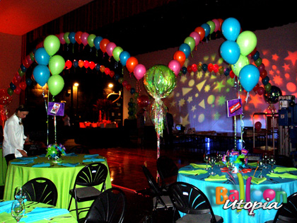 Candy Themed Dancefloor