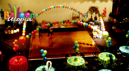 Candy Themed Dance floor