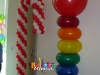 Lifesaver and Candycane Balloons