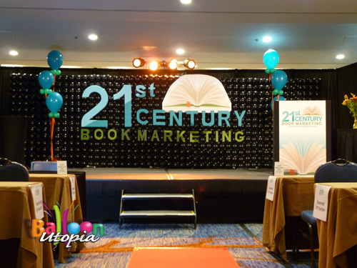 Stage Decorations for Corporate Conference By Balloon Utopia