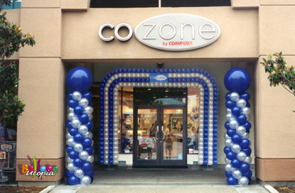 Grand Opening Decor for CoZone