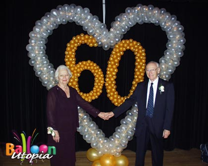 60th Anniversary Decor