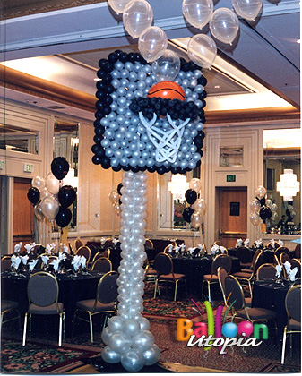 Basketball Backboard Sculpture