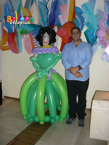 Life size princess commands attention