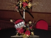 Elegant Centerpiece Combining Balloons and Live Florals
