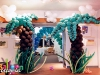 Tropical Theme Entrance Decor