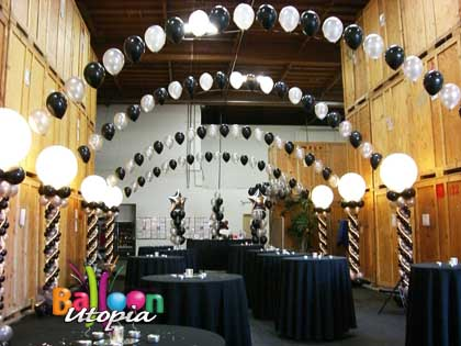 San Diego Elegant Decor By Balloon Utopia
