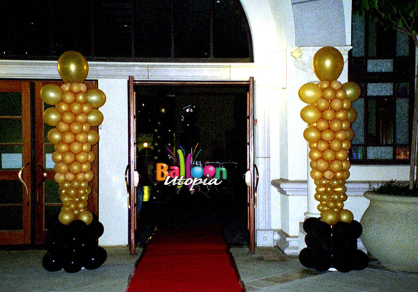 San Diego Hollywood Theme Decor By Balloon Utopia