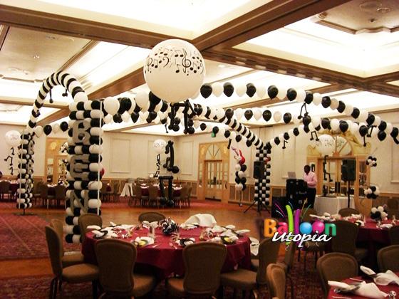 San Diego Theme Decor By Balloon Utopia
