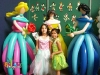 5' Balloon Princess Sculptures by San Diego Balloon Specialists Balloon Utopia