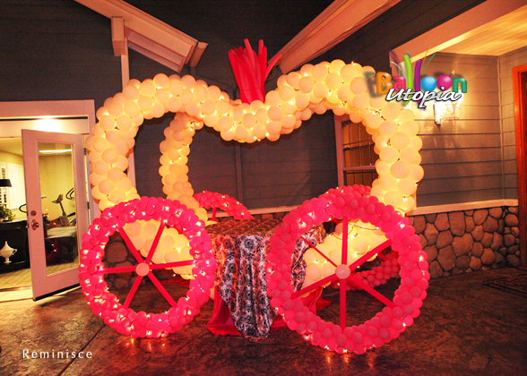 Cinderella Carriage with lights