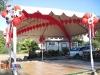 Western themed canopy decor