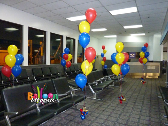 Airport balloons for Southwest Air
