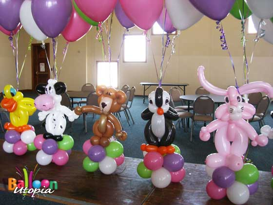 Baby Animal Centerpieces