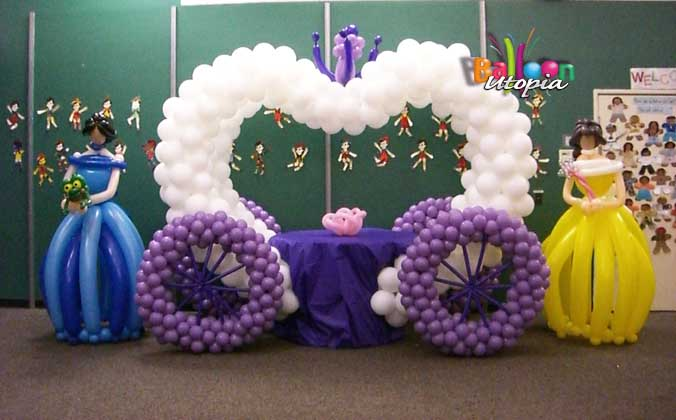Balloon Cinderella Carriage