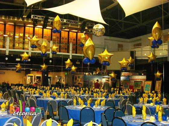 Awards banquet- Star Theme