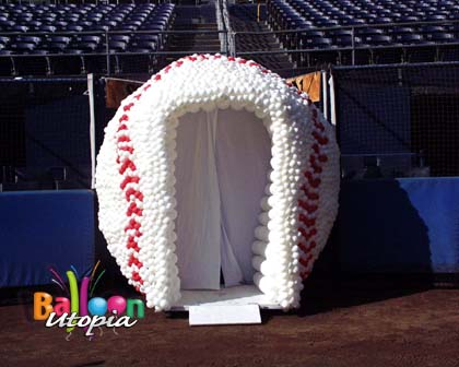 10' Baseball Commissioned by The Padres