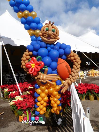 Football Player Sculpture