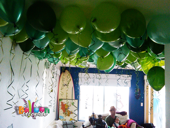 Balloons on the Ceiling