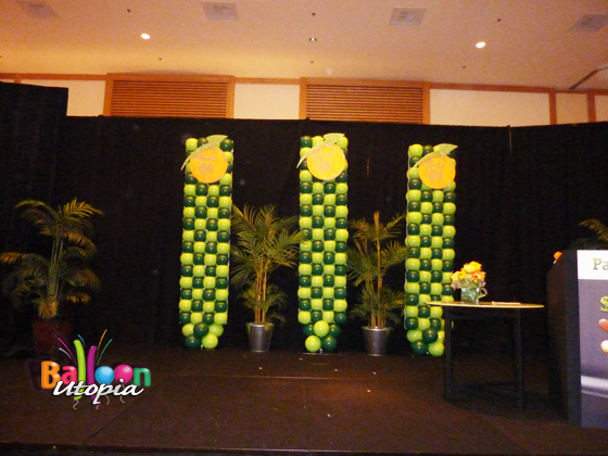 Stage Decorations for Speakers Event