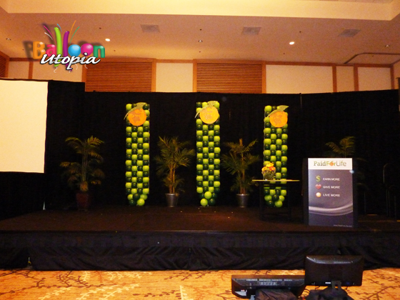 Stage Decor for Speakers Event