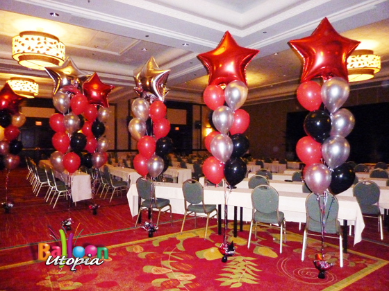 Star Floor Bouquets