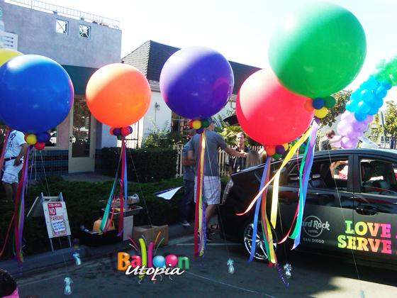 Hard Rock Cafe Parade Balloons