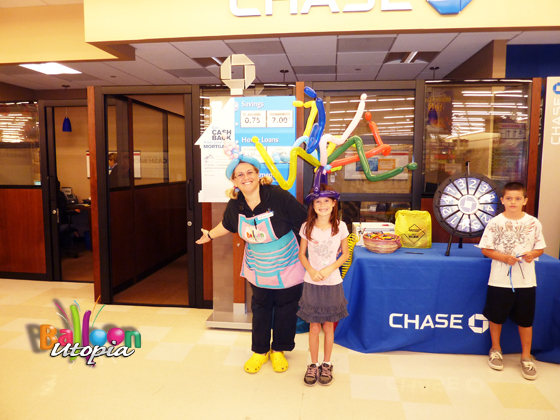 Corporate Entertainment for Chase Bank