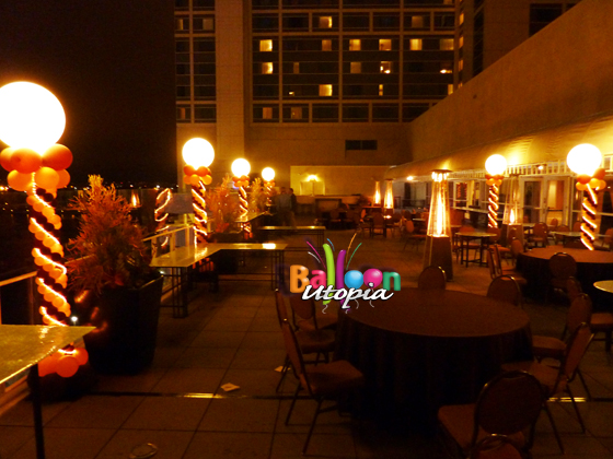 Corporate Event Decorations - Evening