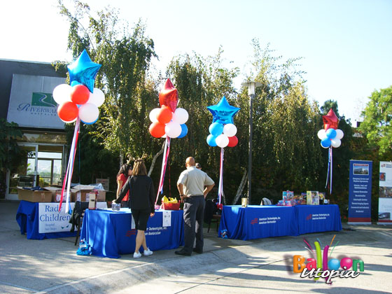 Cloud 9's - Perfect for Outdoors- by San Diego Trade Show experts, Balloon Utopia
