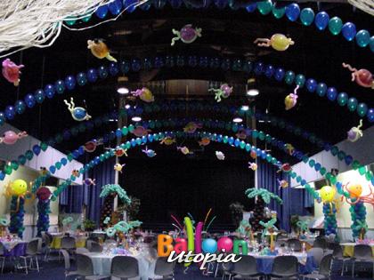 San Diego Under The Sea Theme Decor By Balloon Utopia