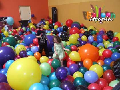 Balloon Pool is fun for kids and adults alike!