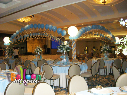 Elegant and romantic dance floor decor invites all to enjoy the party